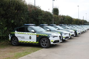 La Guardia Civil de Tráfico vuelve a apostar por el Alfa Romeo Stelvio Q4 en diésel y gasolina