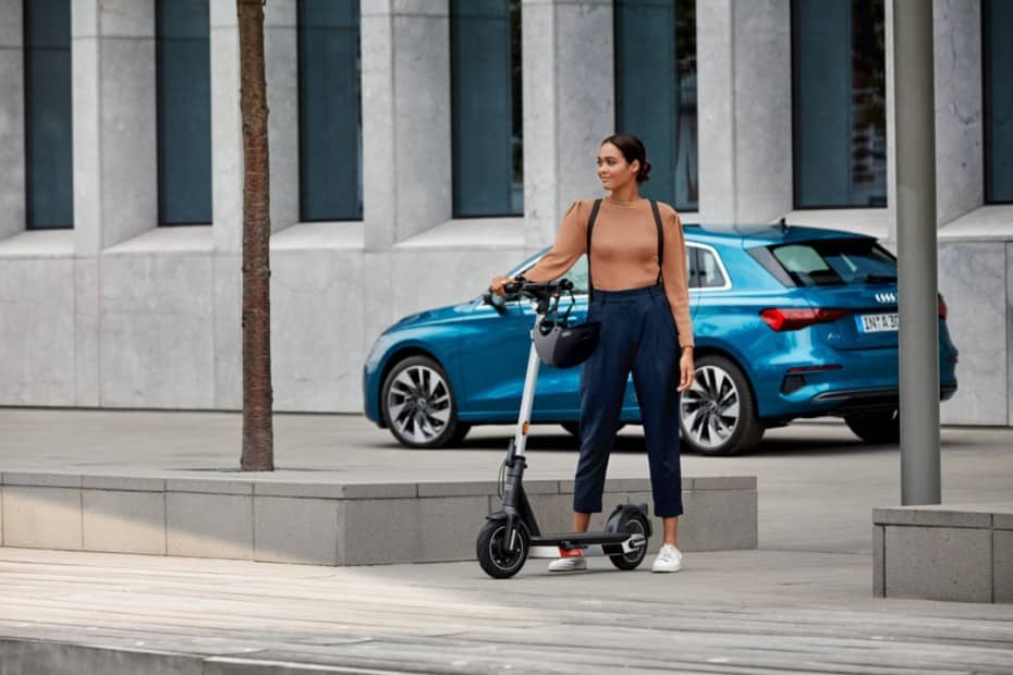 ¿Qué te parece el nuevo patinete eléctrico de Audi?: hasta 65 km de autonomía