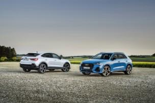Audi Q3 y Q3 Sportback 45 TFSIe 2021: los PHEV llegan en enero por encima de los 47.000 euros