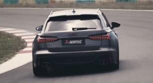[Vídeo] Sencillamente delicioso: así suena el nuevo escape de Akrapovič para el Audi RS 6 Avant