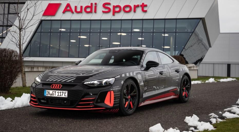 Arranca la producción del Audi e-tron GT, el «mata Teslas»