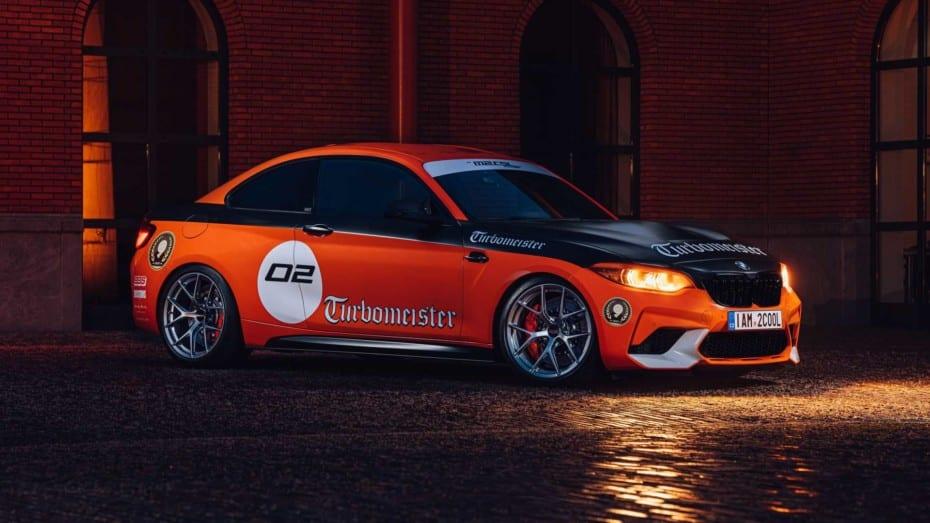 BMW M2 CSL Turbomeister Edition: un juguete para mayores con 520 CV y muchas 'chucherías'