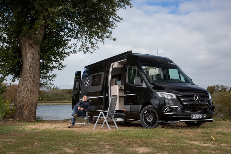 Este Sprinter ofrece una estética deportiva y un amplio interior para disfrutar de unas vacaciones «Covid Free»