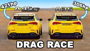 [Vídeo] Mercedes-AMG A 45 S vs. Mercedes-AMG A 35: ¿Merecen la pena casi 15.000€ de diferencia?