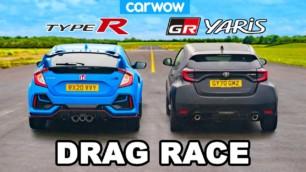 [Vídeo] Toyota GR Yaris vs. Honda Civic Type R 2020: ¿Cuál es realmente el 'japo' deportivo del momento?