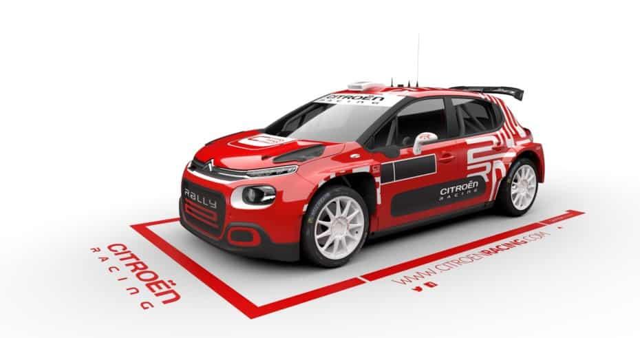 Así es el C3 Rally2 2021 del «Ejército Rojo» de Citroën: numerosas mejoras para triunfar