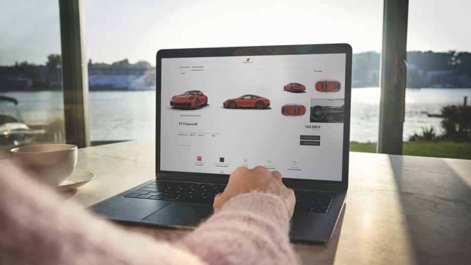 ¿Te animas a comprar un Porsche desde el sofá de casa?
