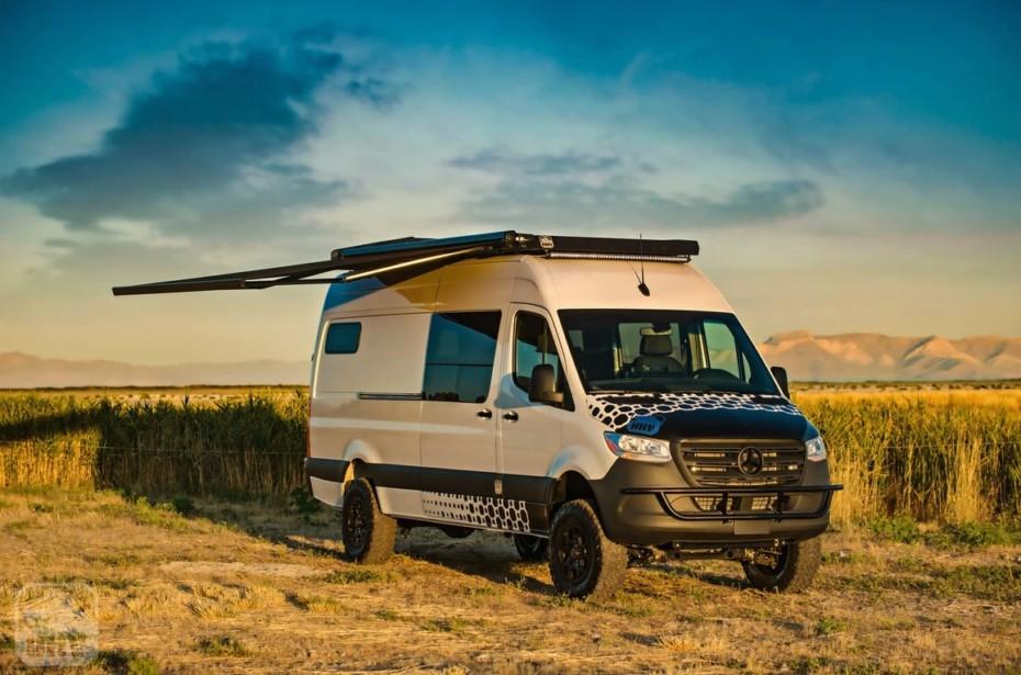 Este Mercedes-BenzSprinter 4×4 es la respuesta a quien busca unas vacaciones «Covid Free»