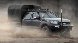 ¿Tienes pensado formar una guerrilla? Ya puedes hacerte con un Ford Ranger de asalto blindado