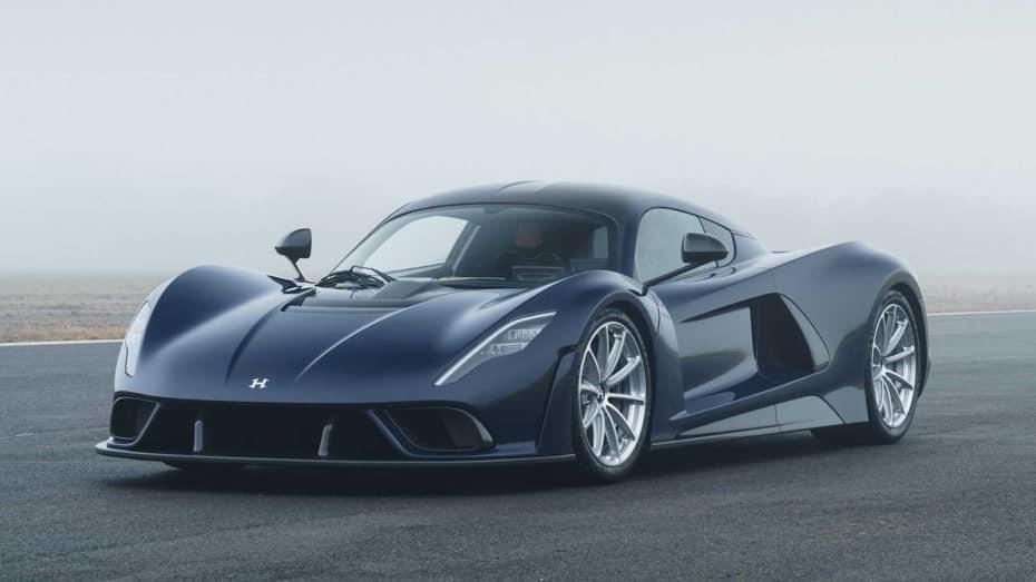Así es el Hennessey Venom F5: quiere superar los 500 km/h gracias a su motor llamado «Fury»