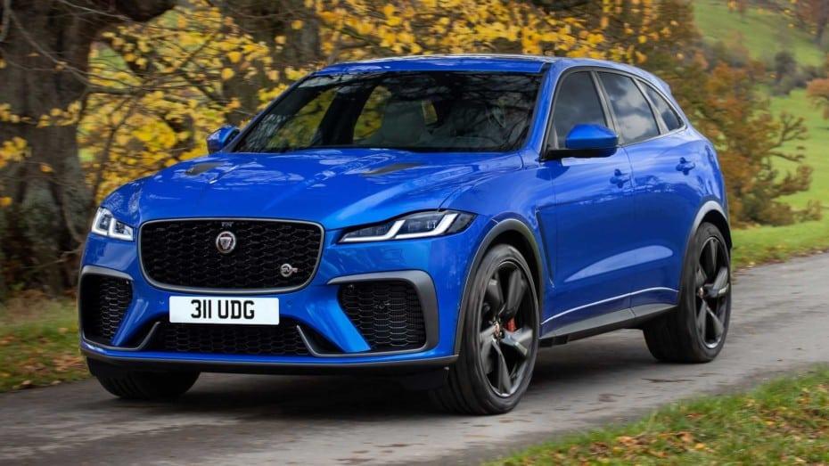 ¡Oficial! Jaguar F-Pace SVR 2021: tan lujoso y potente como caro