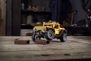 LEGO presenta su nuevo set, un Jeep Wrangler Rubicon de 665 piezas