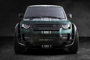 Land Rover Defender Racing Green Edition: probablemente el Defender más salvaje que has visto