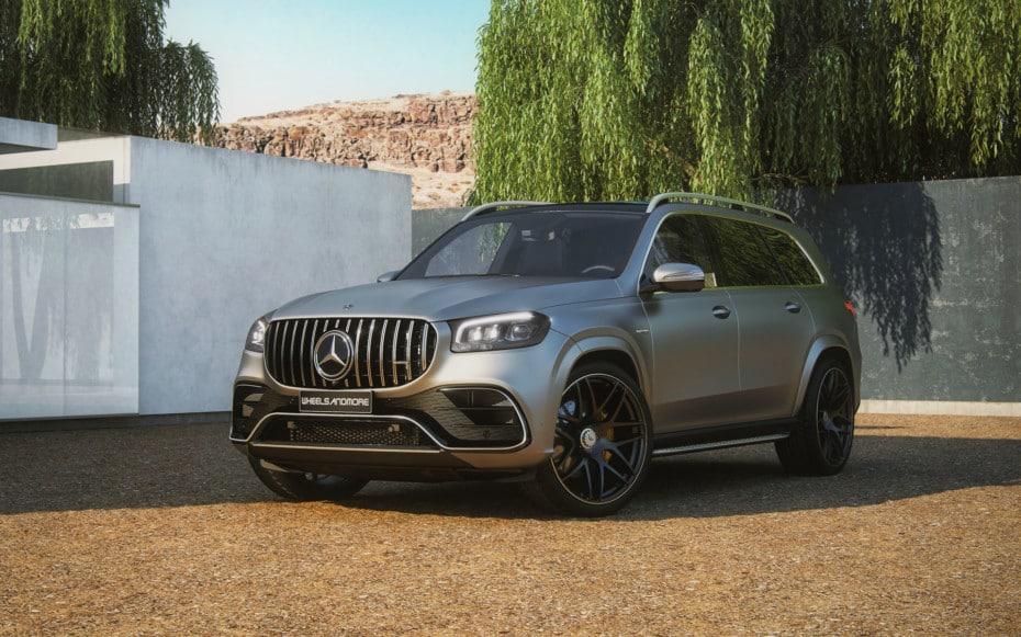 Hasta 933 CV y 1.150 Nm de par para un salvaje Mercedes-AMG GLS 63 4Matic+