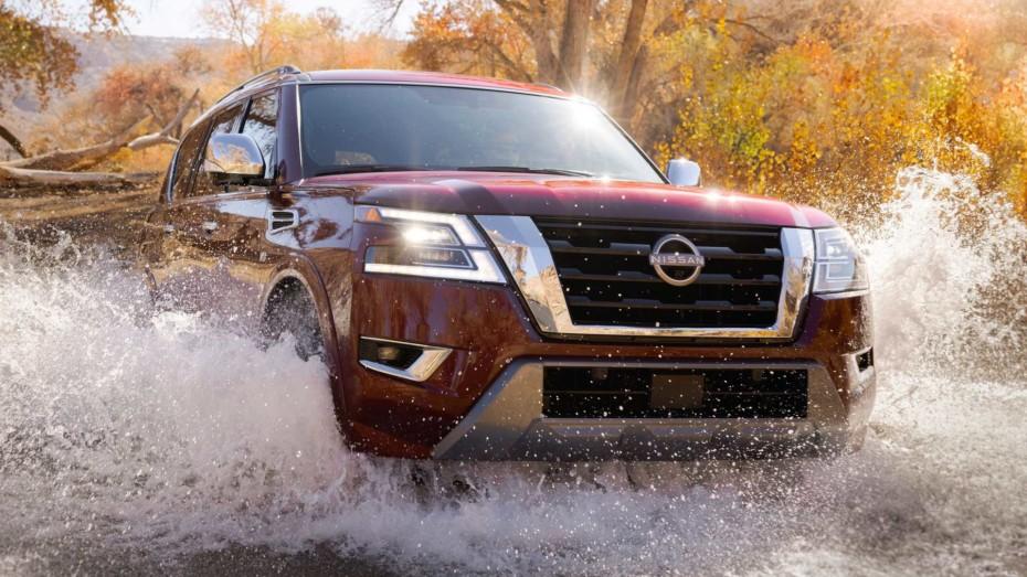 ¡Oficial! Nissan Armada 2021: el enorme SUV se pone al día al otro lado del Charco