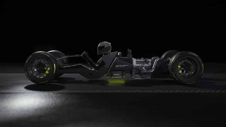 Primeros detalles del Peugeot HYBRID4 500 kW: Un híbrido enchufable con un motor V6 biturbo de 2.6 litros