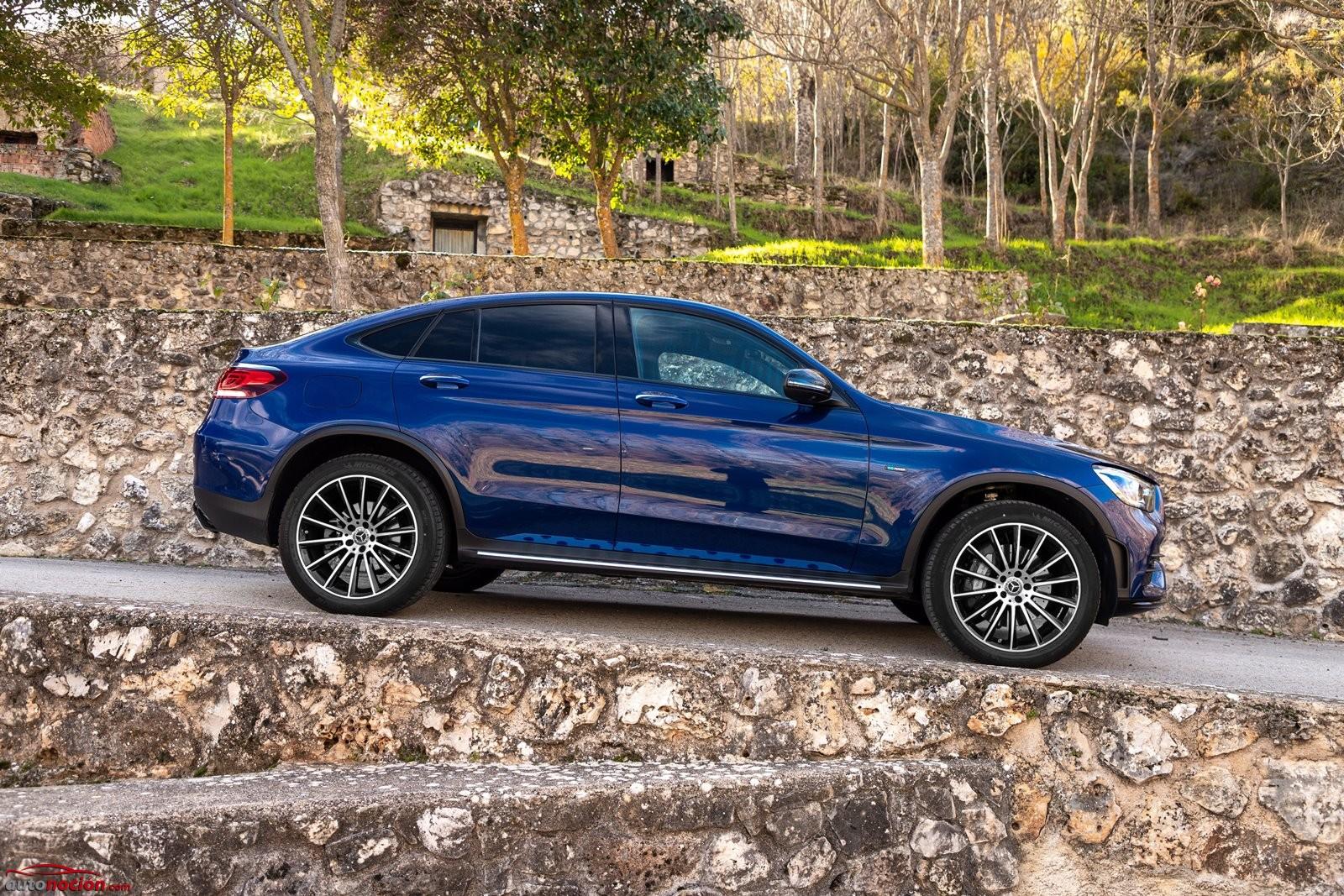 Opinión y prueba Mercedes-Benz GLC Coupé PHEV gasolina 2020