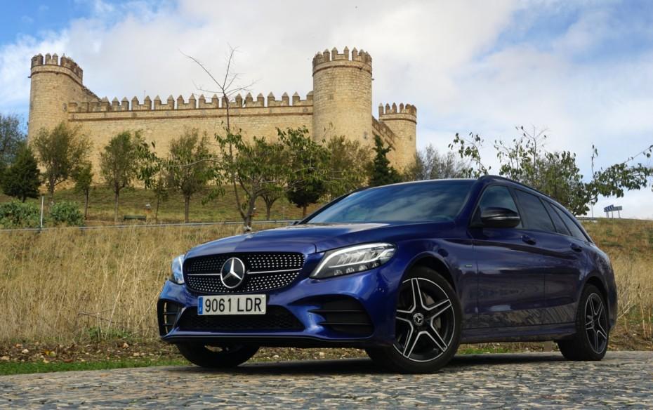Prueba Mercedes C300de Estate 306 CV: Etiqueta CERO con motor diésel