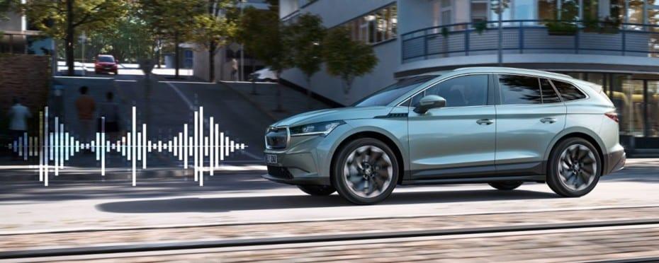 Así «suena» el Skoda Enyaq iV: porque cada eléctrico suena diferente