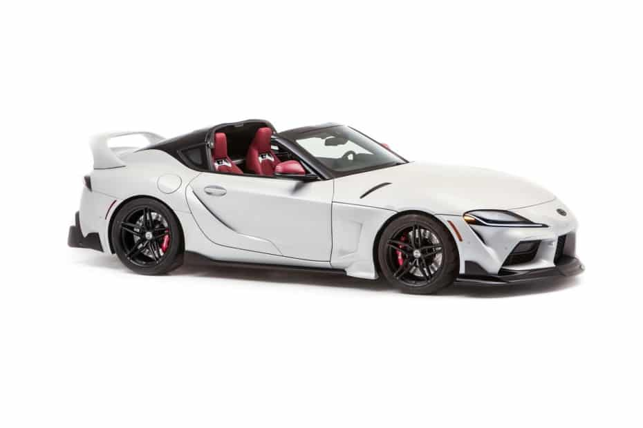 ¡Oficial! Así es el GR Supra Sport Top, cuando el modelo pierde el techo y acerca su diseño al del Supra MKIV