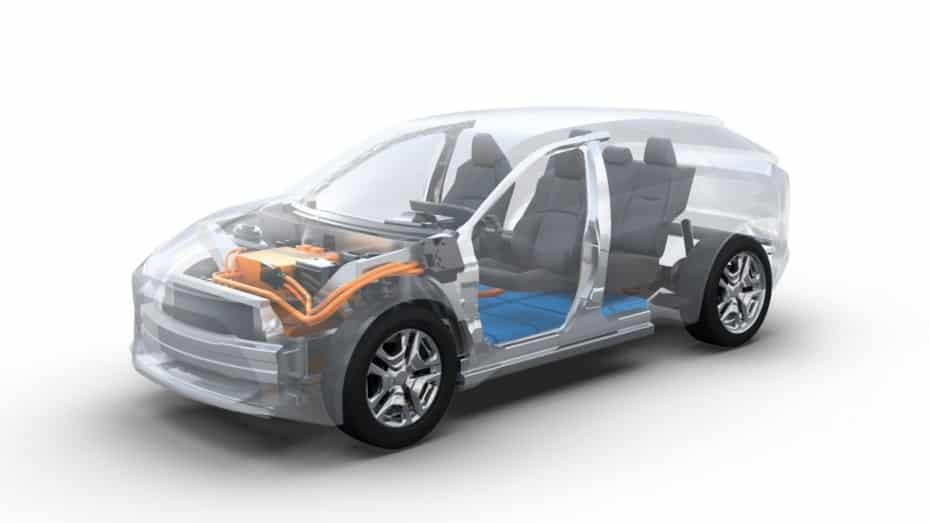 Toyota empieza a darnos detalles de su primer modelo 100% eléctrico sobre la plataforma e-TNGA…