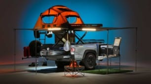 Así es el Toyota TRD Sport Trailer: un polivalente y completo remolque para irse de acampada