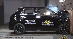 Nueva tanda de pruebas de choque de Euro NCAP: El Honda e y el Hyunai i10 los peor parados
