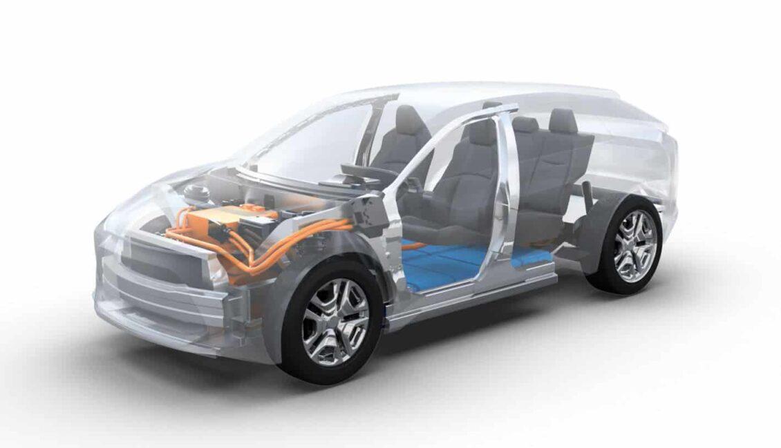 El primer eléctrico de Subaru: del tamaño del Forester y con la plataforma modular eléctrica de Toyota