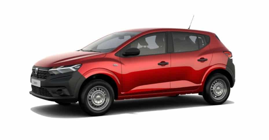 Detalle de equipamiento del nuevo Dacia Sandero para España