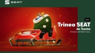 Este año Papá Noel estrena el SEAT Trineo