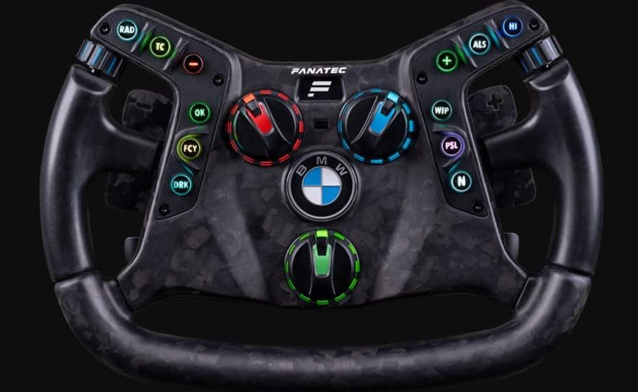 Este volante de Fanatec es compatible con el BMW M4 GT3: no encontrarás nada tan real en la simulación