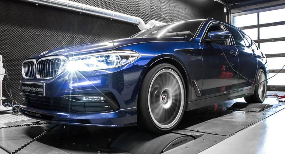 A falta de BMW M5 Touring, bueno es este Alpina B5 Bi-Turbo con 720 CV de potencia
