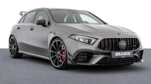 Hasta 450 CV para el Mercedes-AMG A 45 S por cortesía de BRABUS
