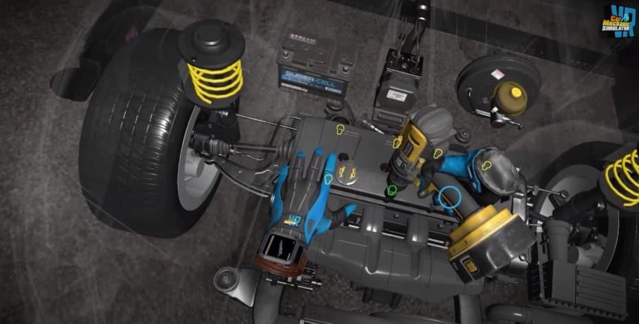 Car Mechanic Simulator VR: la versión de «realidad virtual» llegará a PC