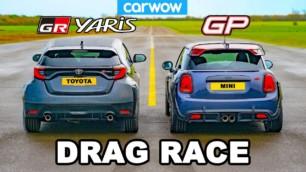 [Vídeo] Toyota GR Yaris vs. MINI John Cooper Works GP: A ver si esperabas este resultado...