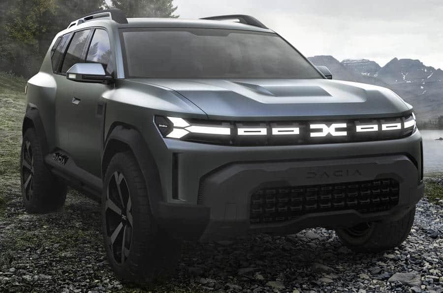 Así luce el Dacia Bigster Concept: por encima del Duster y pisando fuerte…