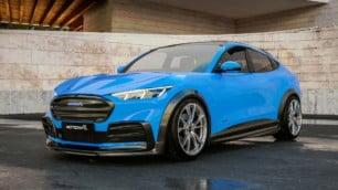 Si Ford Performance creara un Mustang Mach-E, seguramente sería tan salvaje como este