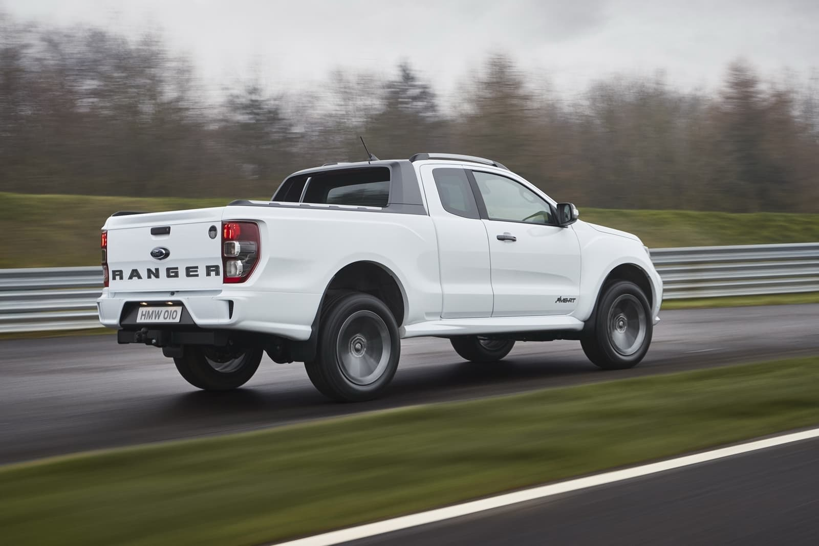 M-Sport adds a sporty touch to the blue oval pickup