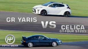 [Vídeo] Toyota GR Yaris vs. Celica GT-Four: Así ha evolucionado la tracción total en 20 años