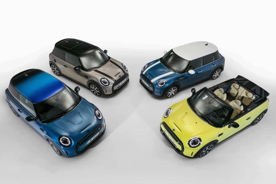 ¡Oficial! La gama MINI se renueva en 2021: Más tecnología y atractivo para los 3p, 5p y Cabrio