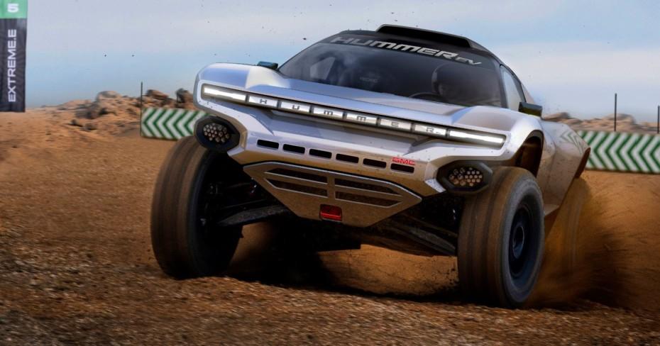 GMC anuncia su patrocinio en el Extreme E: habrá un coche con el aspecto del Hummer EV
