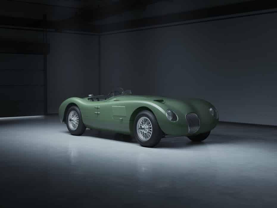 Jaguar C-type Continuation: 8 réplicas perfectas para celebrar los 70 años del modelo
