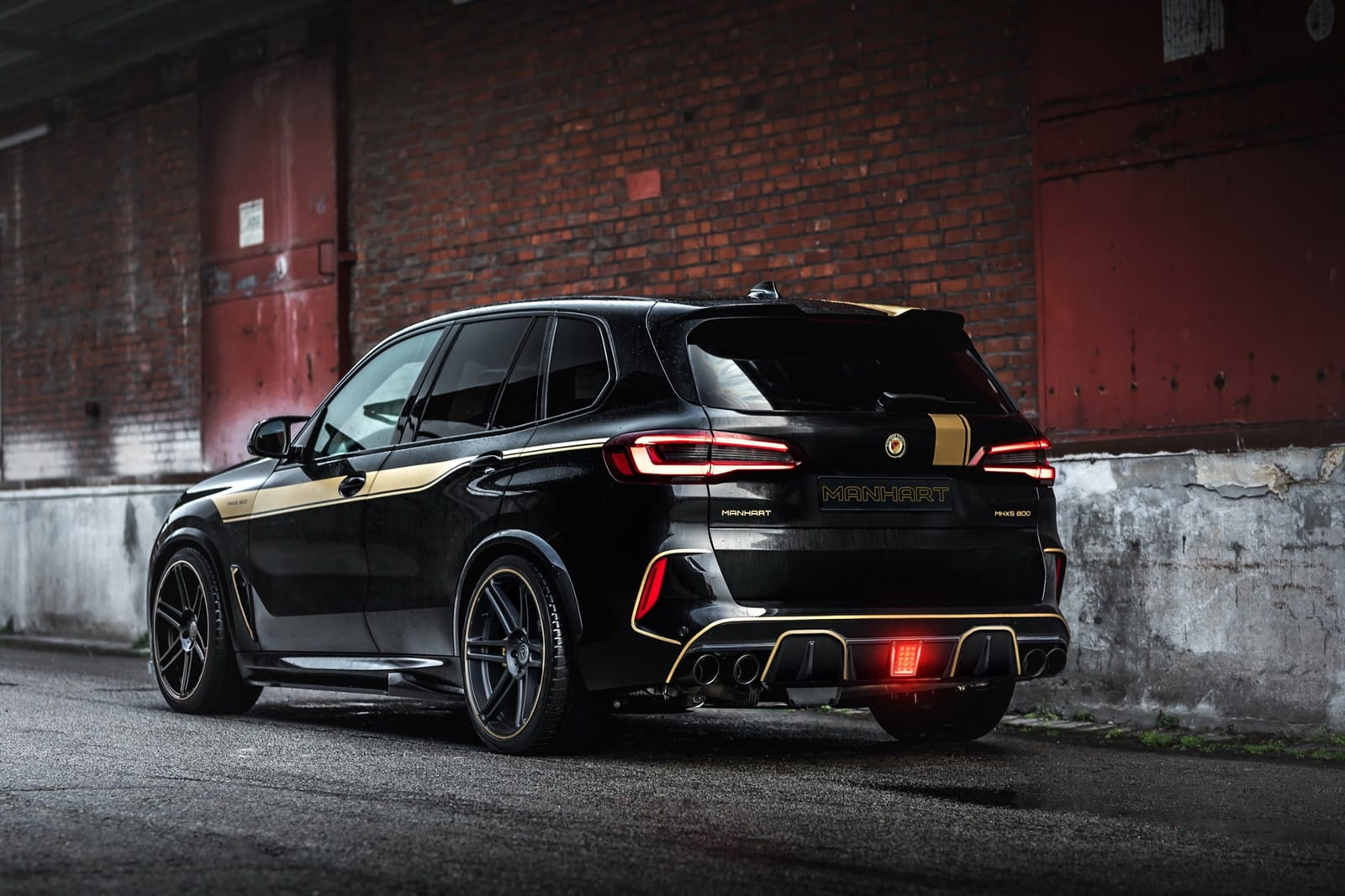 an X5 M Competition with 200 extra hp