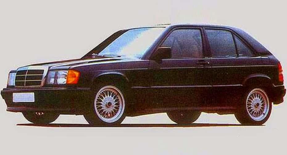 Mercedes 190E City: un revolucionario 'hot hatch' de 160 CV que mató la falta de bemoles de Stuttgart