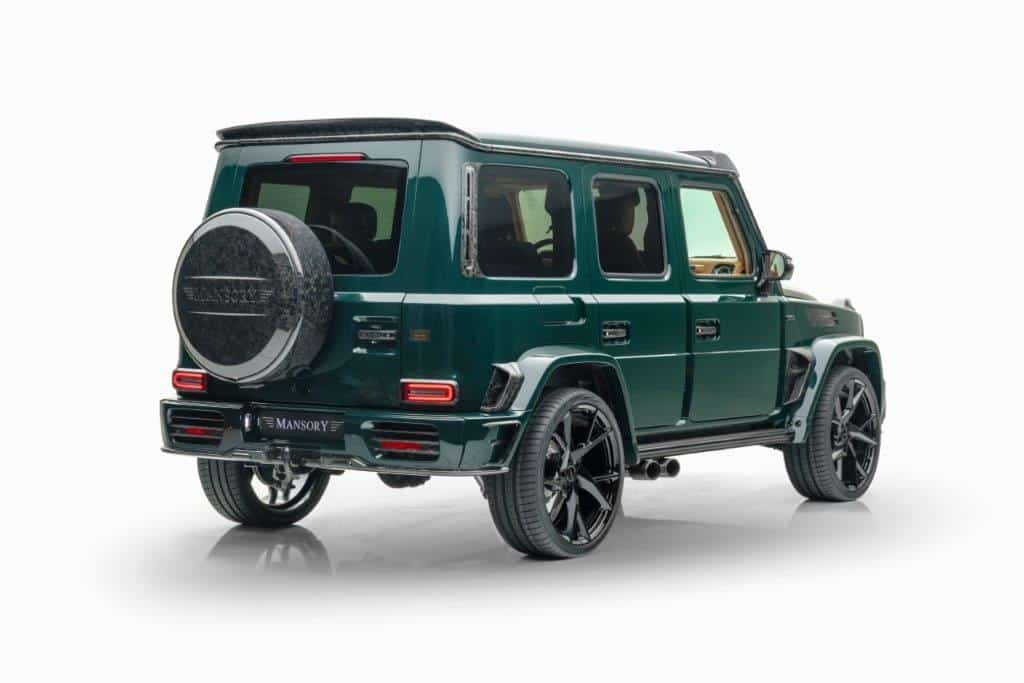 Mansory GRONOS 2021, a Mercedes G-Class full of forged carbon fiber limited to 10 units