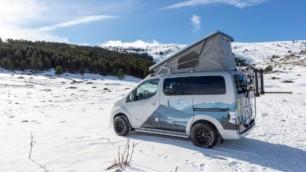 Nissan e-NV200 Winter Camper: el hogar sobre ruedas ideal para sobrevivir a la próxima Filomena