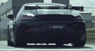 [Vídeo] ¡Brutal! Así suena el nuevo escape de Akrapovič para el Porsche 718 Cayman GT4