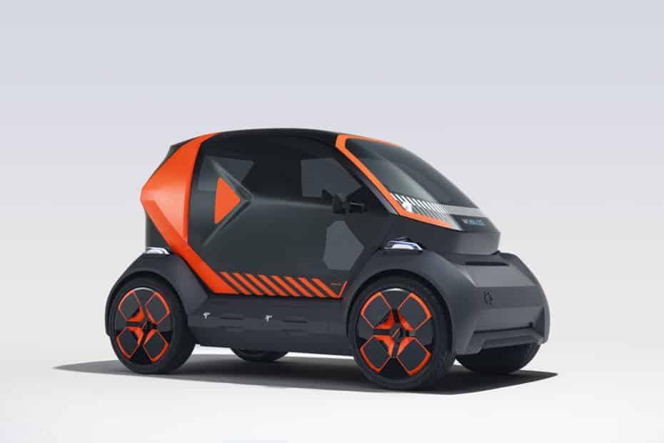 Renault nos muestra el Mobilize EZ-1 Prototype: un urbanita para el carsharing