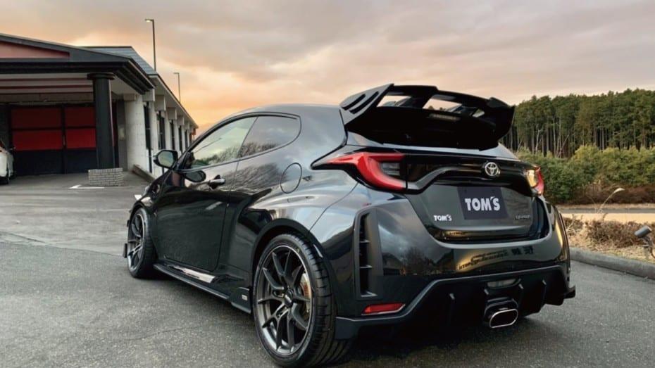 El Toyota GR Yaris con más músculo gracias a TOM´s Racing y su «bodykit»