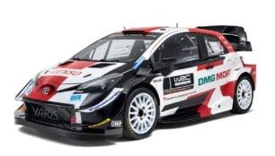 Así lucirá el Toyota Yaris WRC 2021: sin cambios porque la máquina funciona